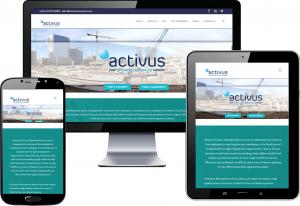Activus recruitment website design