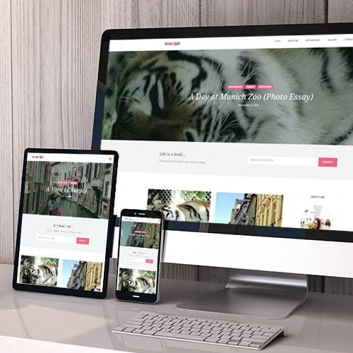 The Cait Escape Web Design
