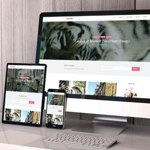 The Cait Escape Web Design