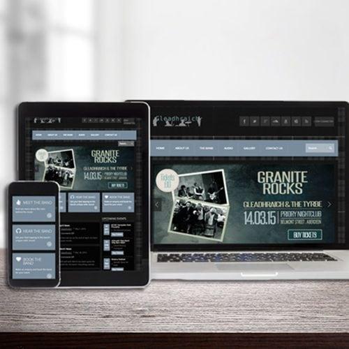 Gleadraich Dundee Web Design