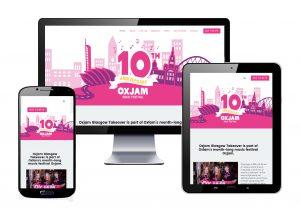 Oxjamg Glasgow Takeover website