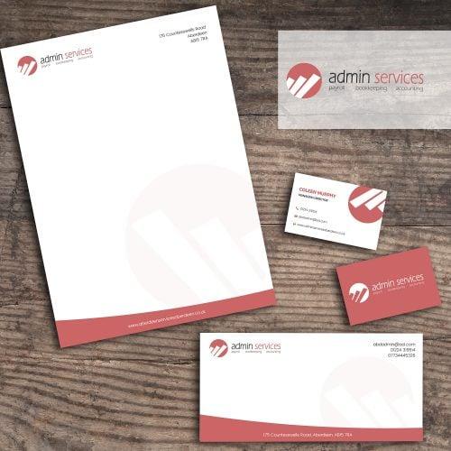 Admin Services Print Design