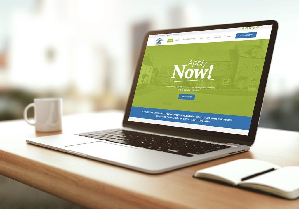 Prescription Property Group website Design