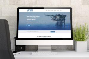 Offshore 3D Aberdeen Website Design