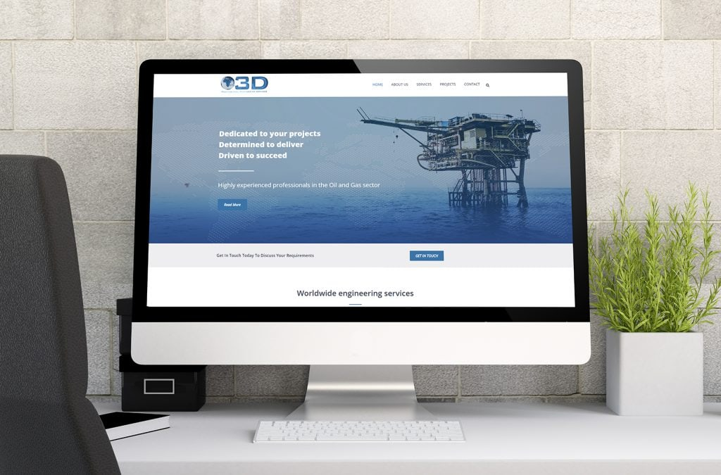 Offshore 3D Aberdeen Website Design