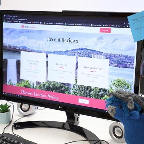 bright website design dundee