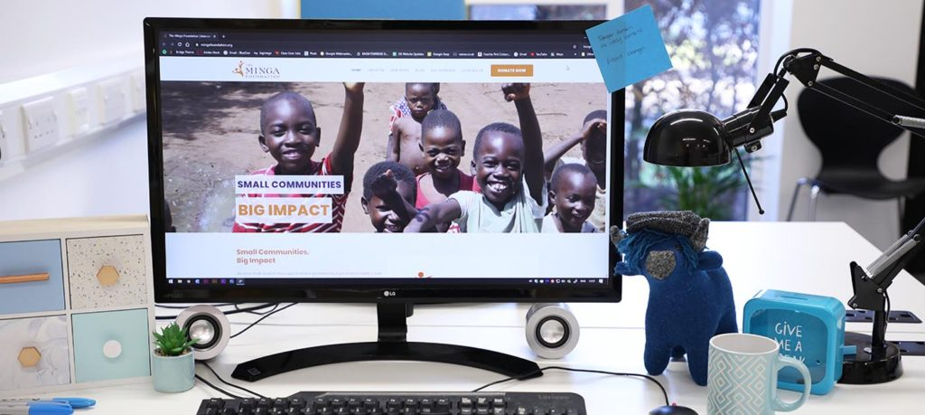 dundee web design charity