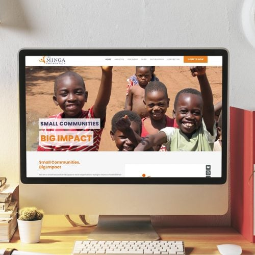charity website development dundee
