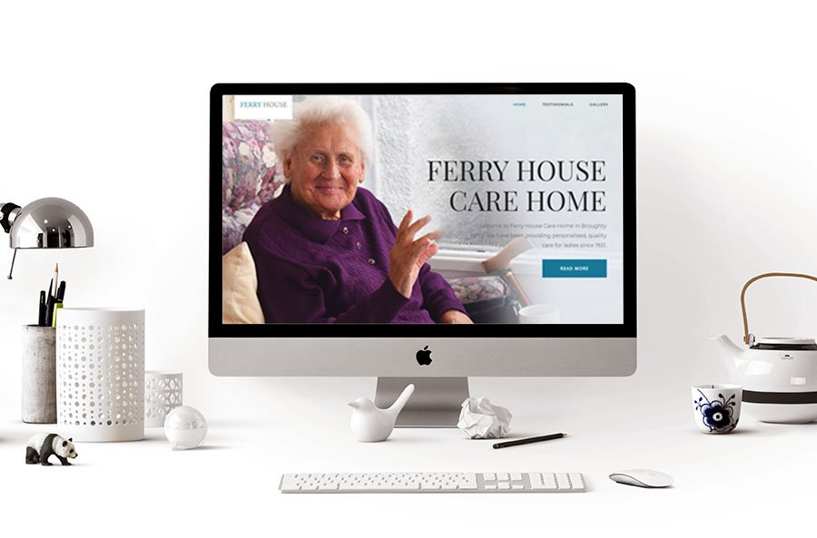 dundee website design care home