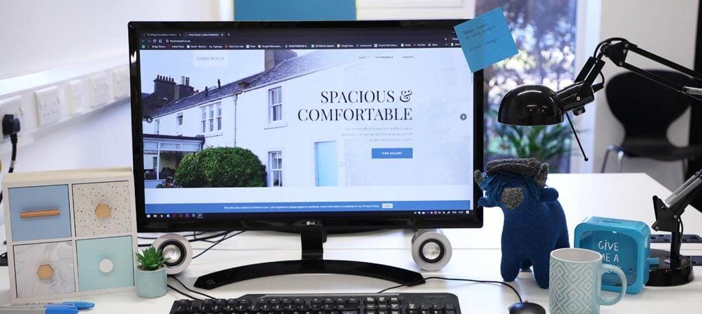 nursing home web design dundee