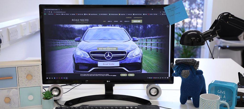 dundee website design chauffeur