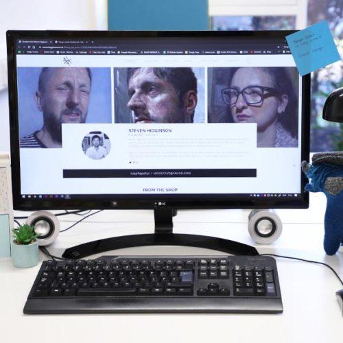 steven higginson web design in dundee