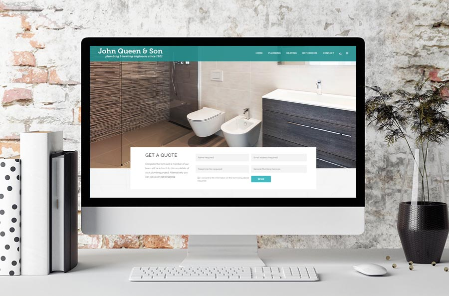 perth website design plumbers