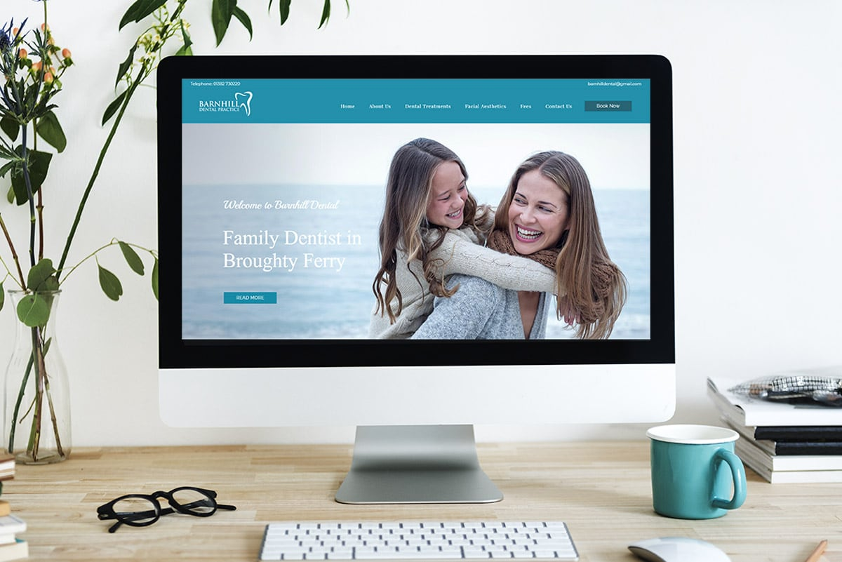 dental website design dundee
