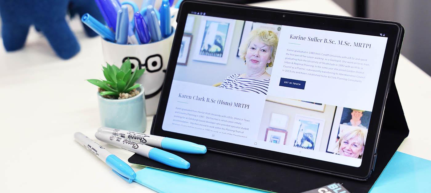 dundee website designer consultancy