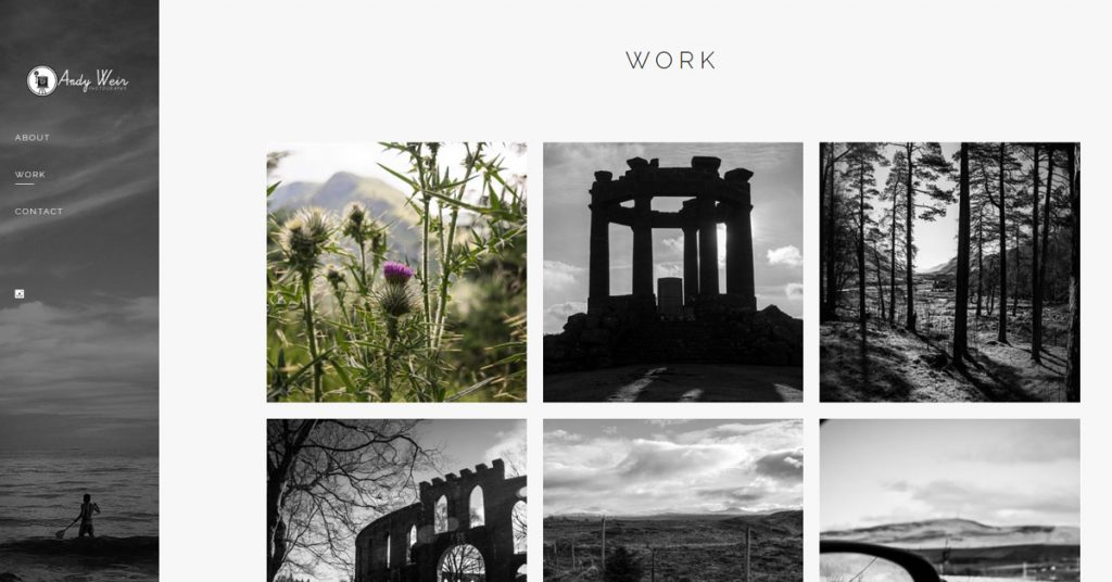 website design portfolio dundee