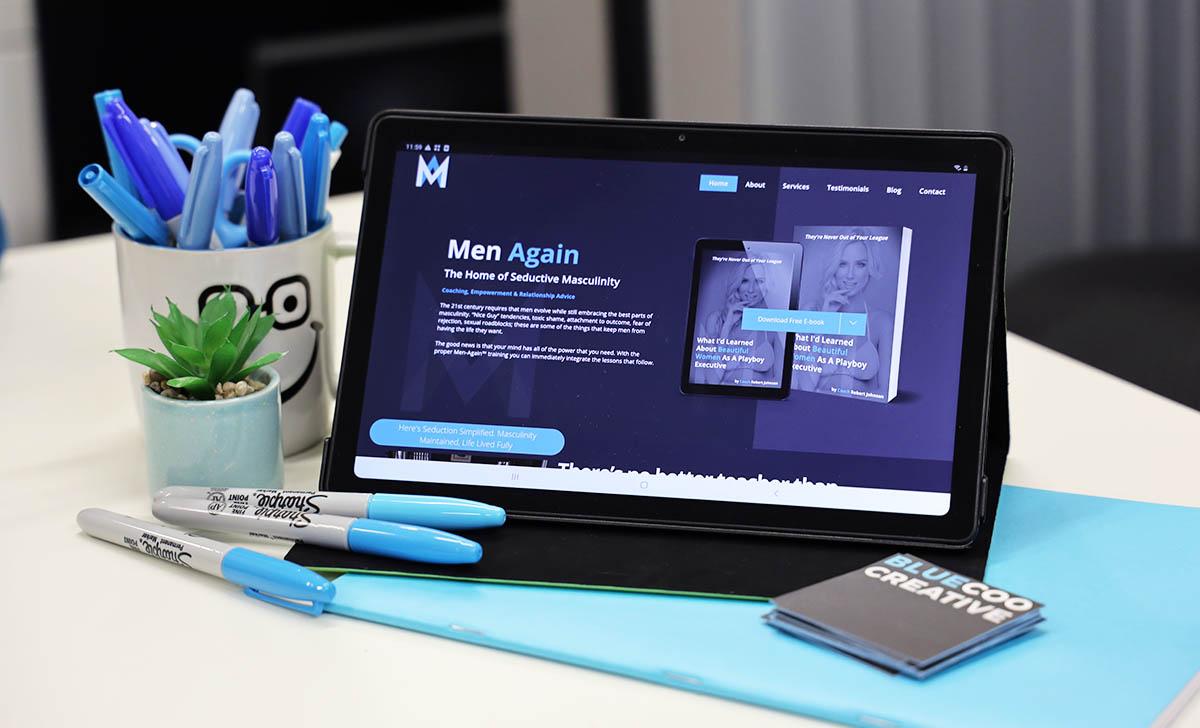 men again web design scotland