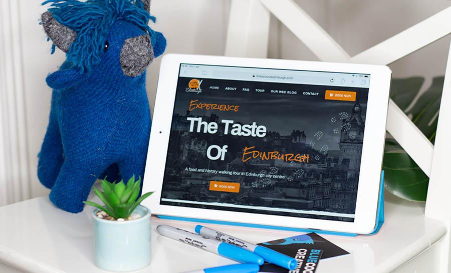 edinburgh website design dundee