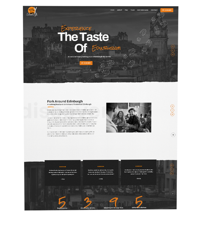 edinburgh website design in scotland