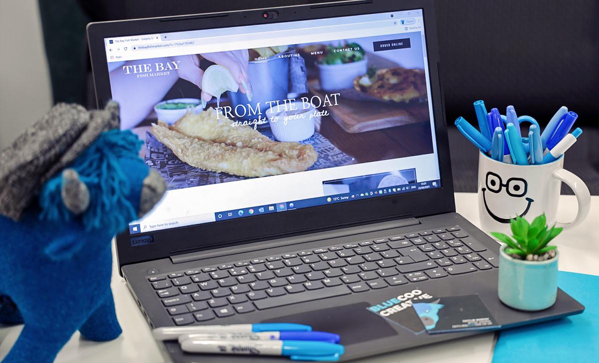 hospitality website design dundee