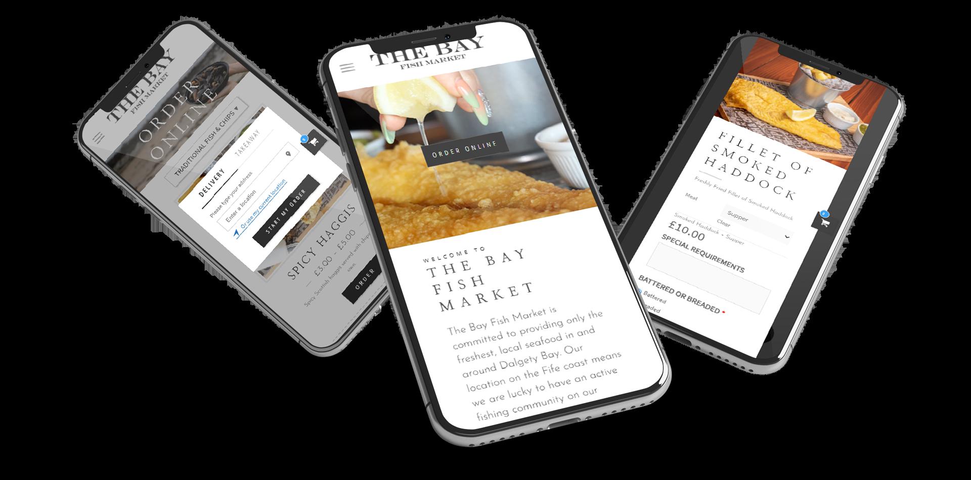 restaurant web design dundee