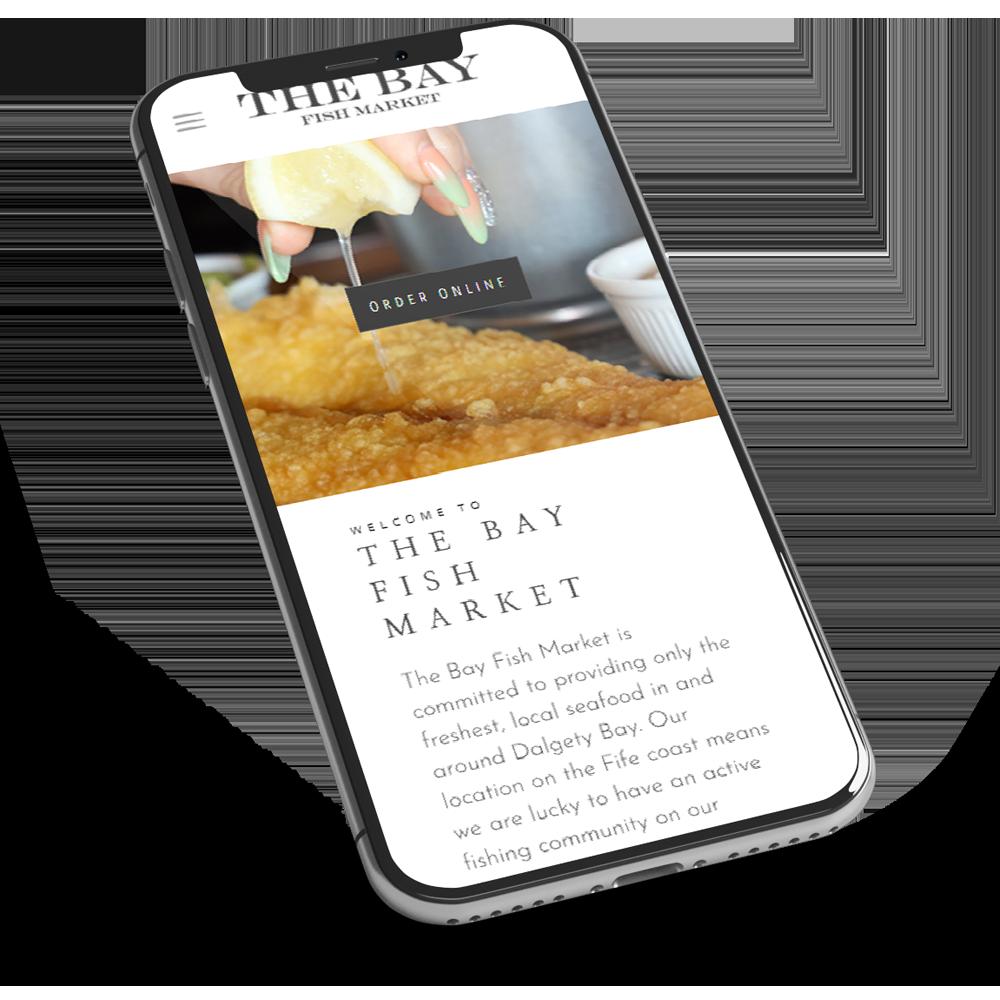 restaurant website design dundee